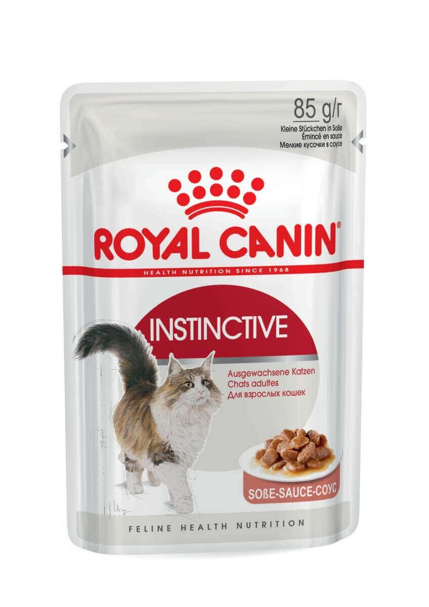 Royal Canin Instinctive P 226 T 233 E En Sauce Pour Chat P 226 T 233 E