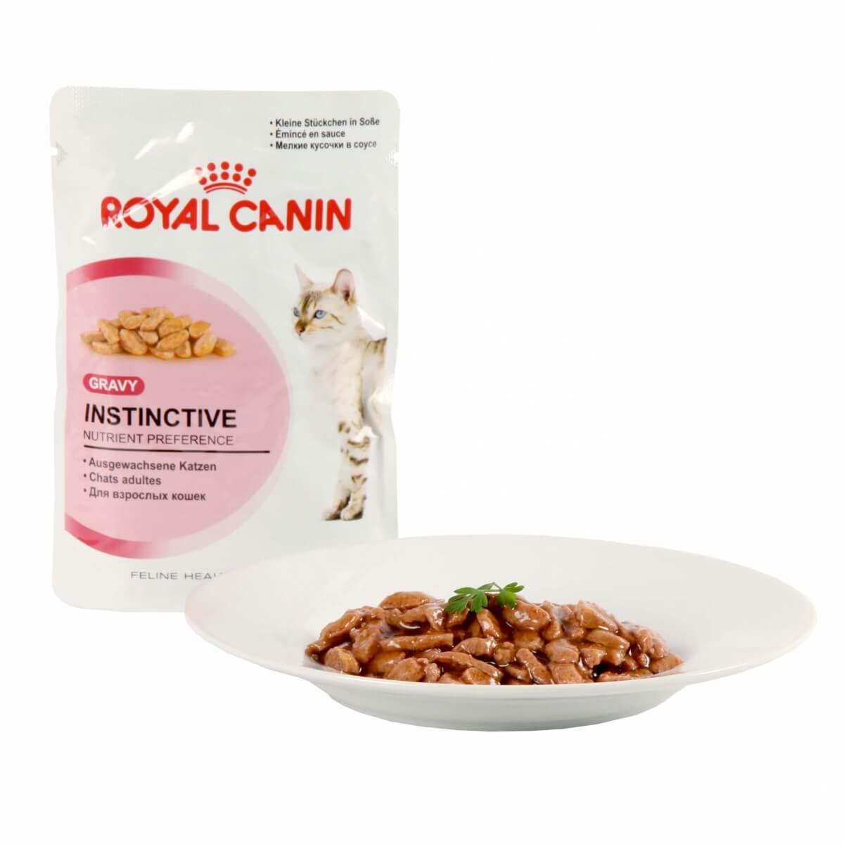 royal canin katzenfutter instinctive in so e 12 frischebeutel nassfutter f r katzen. Black Bedroom Furniture Sets. Home Design Ideas