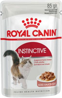 Bolsa con comida gelatinosa ROYAL CANIN ADULTE INSTINCTIVE 12