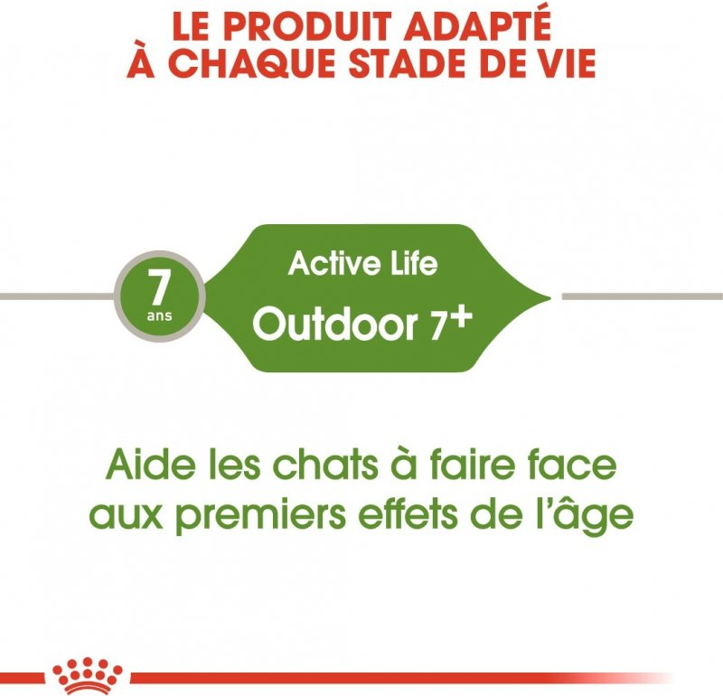 Royal Canin Active Life Outdoor Adulte 7+