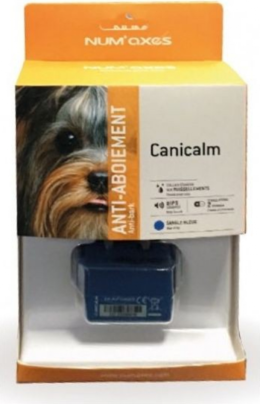 Collier anti-aboiement CANICALM - Stimulations électrostatiques