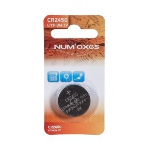 Pile lithium 3 volts CR 2450
