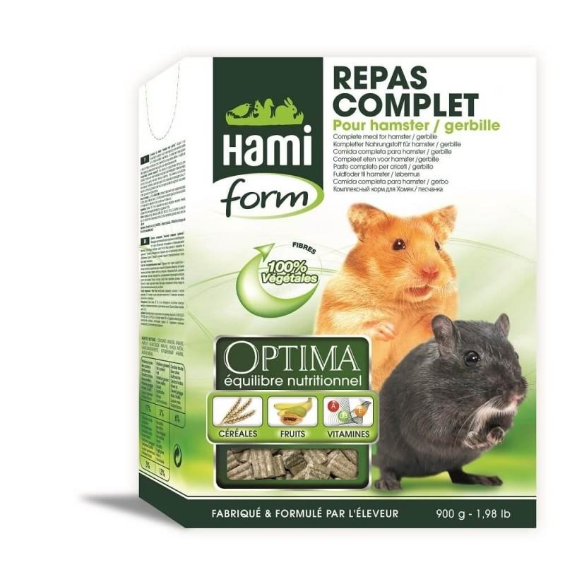 Granulado para hamster y jerbo Alimento completo OPTIMA