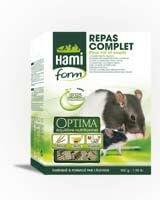 Granulado para ratas y ratones comida completa OPTIMA  _0