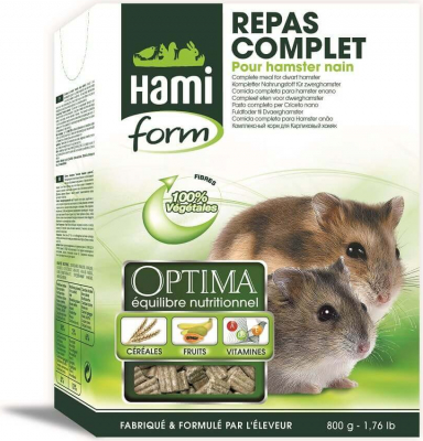 HamiForm Optima Complete Meal Dwarf Hamster