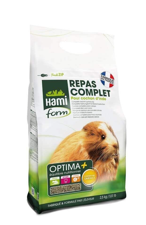 Repas complet OPTIMA+ cochon d'inde 2.5kg_0