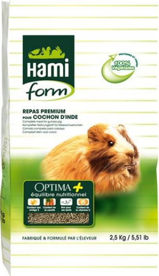 Repas complet OPTIMA+ cochon d'inde 2.5kg