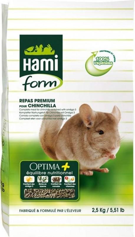 Repas premium OPTIMA+ chinchilla