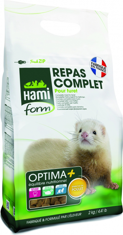 Hamiform Optima + repas complet furet