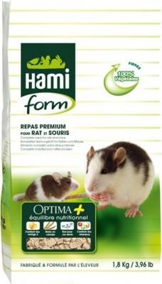 Comida premium OPTIMA PLUS ratas y ratones