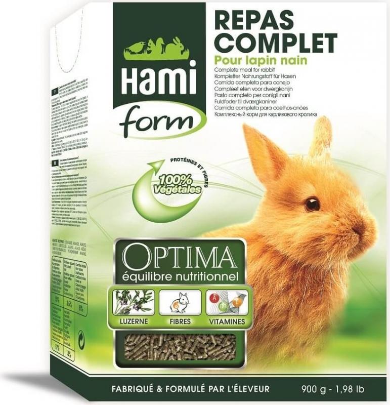 Hamiform Optima repas complet lapin nain