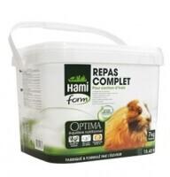Cubo de granulado completo para conejillo de Indias Hamiform