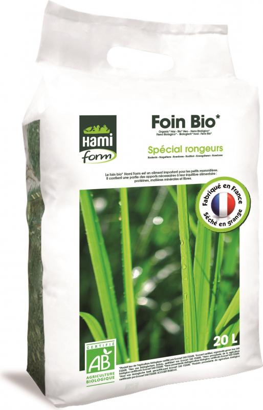 Foin BIO 20L Hamiform spécial rongeurs