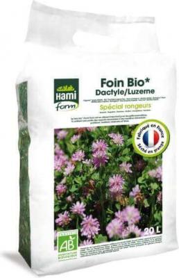 Foin pour rongeurs Luzerne/Dactyle Hamiform BIO 20L