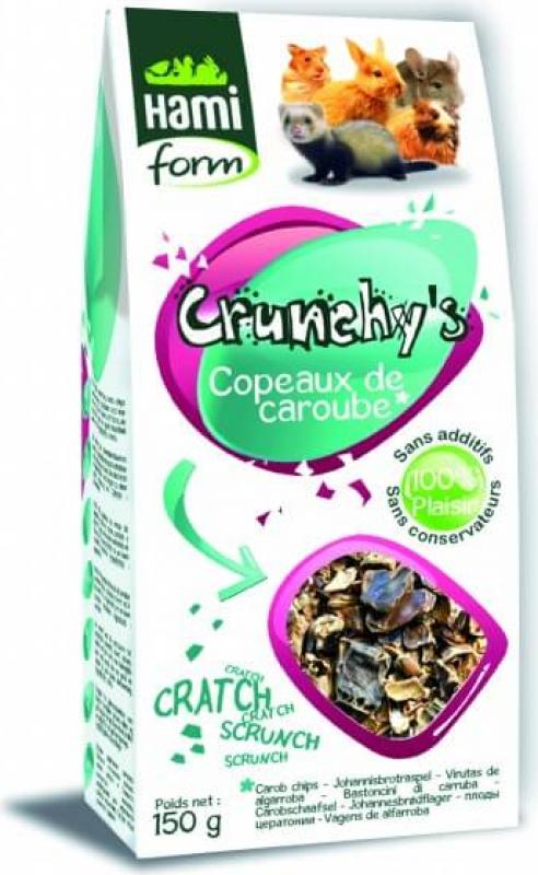 Friandises Copeaux de caroube pour lapin CRUNCHY'S