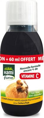 Complejo vitamínico vitamina C para todos los roedores.