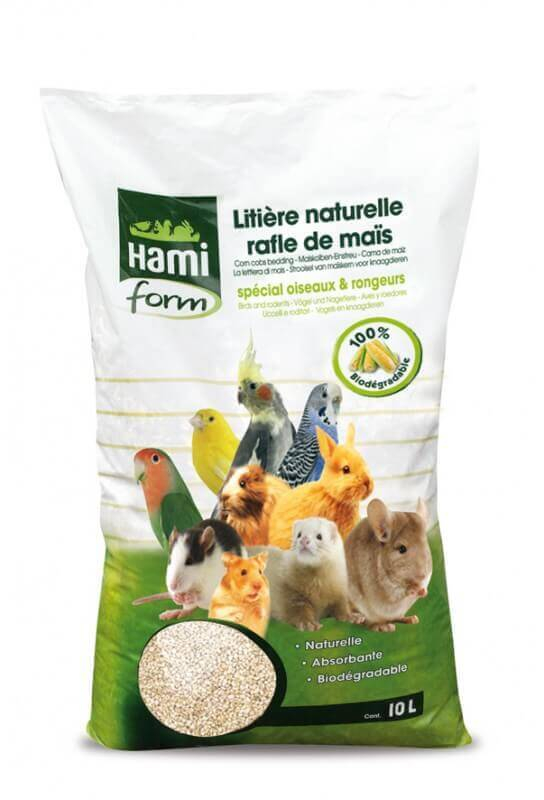 Corn Kernel Litter for Birds and Smal Pets_0