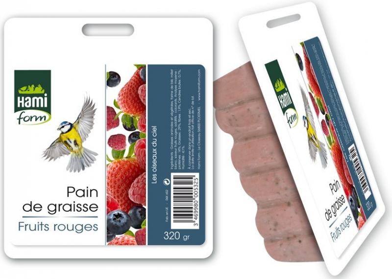 Hamiform Pain de graisse pour oiseaux du ciel - Plusieurs saveurs