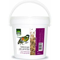 Repas oiseaux seau rouge-gorge/mésange et chardonneret