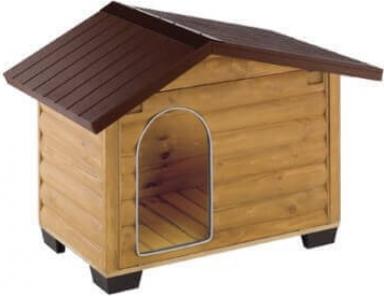 Niche pour chien Canada avec terrasse amovible