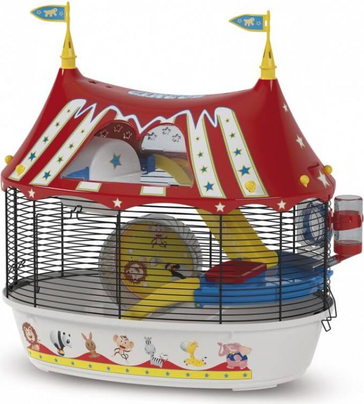 Cage Circus Fun pour petit rongeur