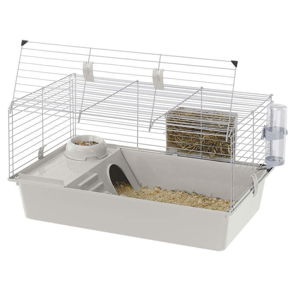 cage ferplast cavie 80 pour cochon d 39 inde et lapin cage. Black Bedroom Furniture Sets. Home Design Ideas