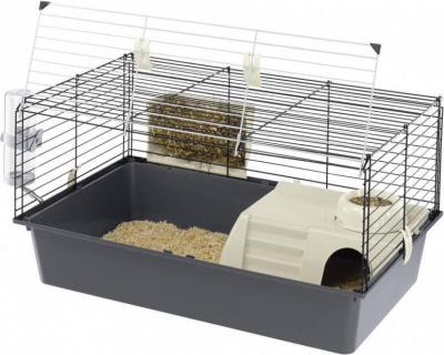 Jaula para conejos y cobayas  CAVIE 80 cm