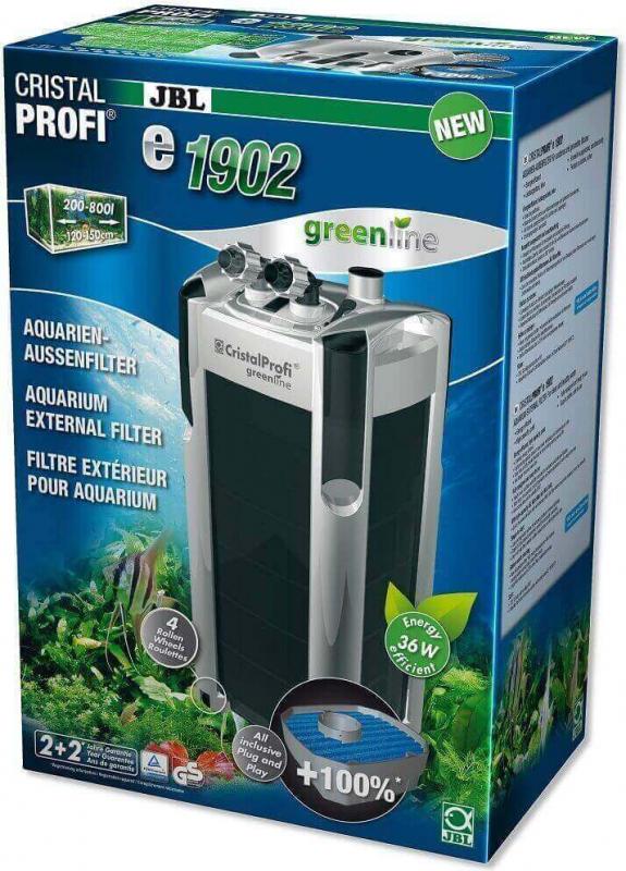 JBL CristalProfi Greenline Filtre extérieur pour aquarium