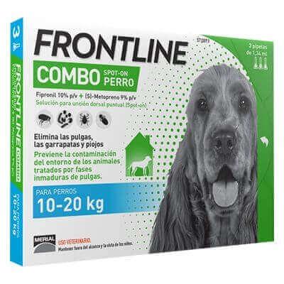 Pipeta antiparasitaria Frontline Combo perro 2-10 kg
