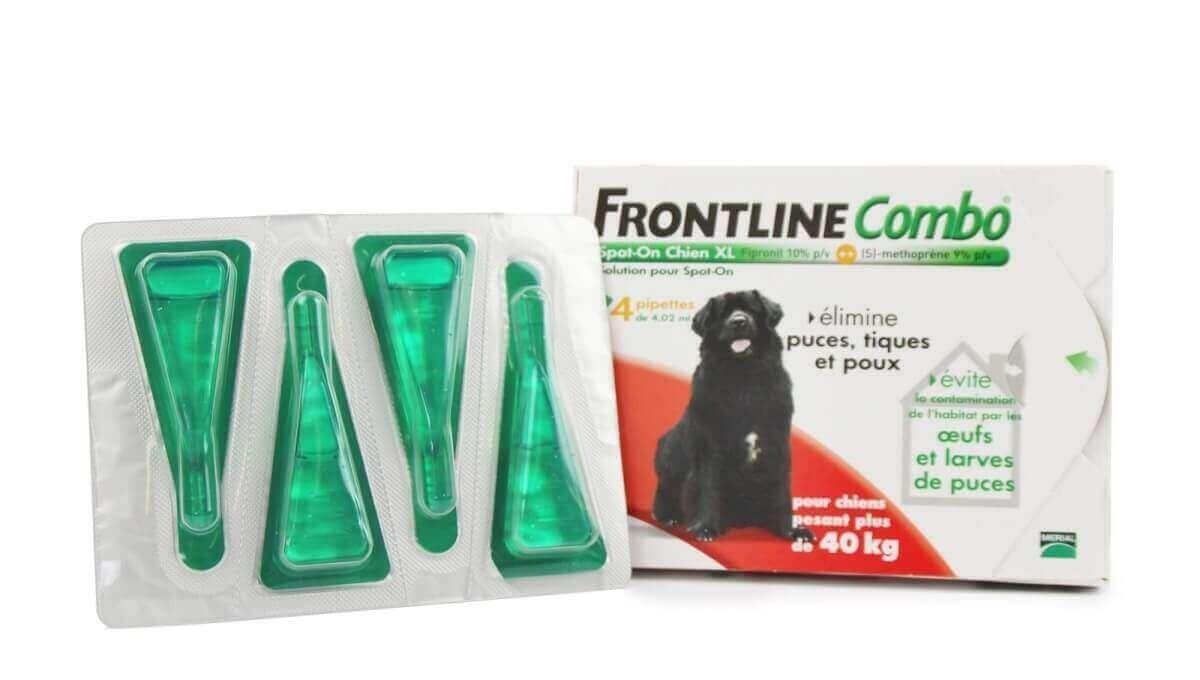 Pipeta antiparasitaria Frontline Combo perro 2-10 kg  _1