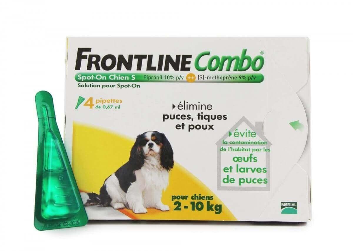 Pipeta antiparasitaria Frontline Combo perro 2-10 kg  _4