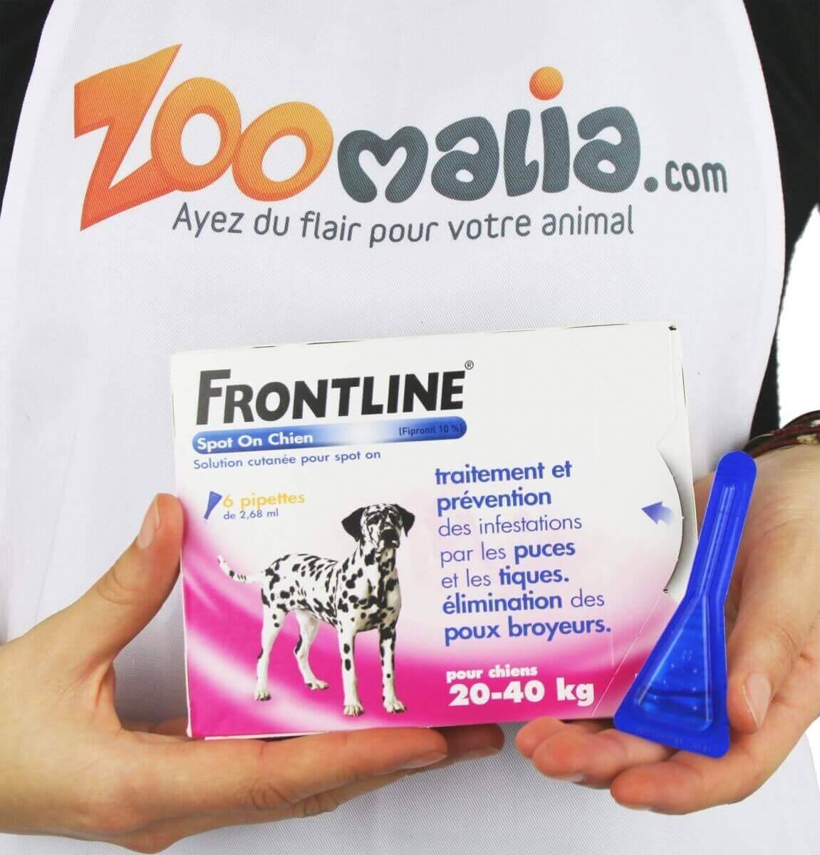Pipeta antiparasitaria Frontline Spot para perro de 2 a 10 kg_3