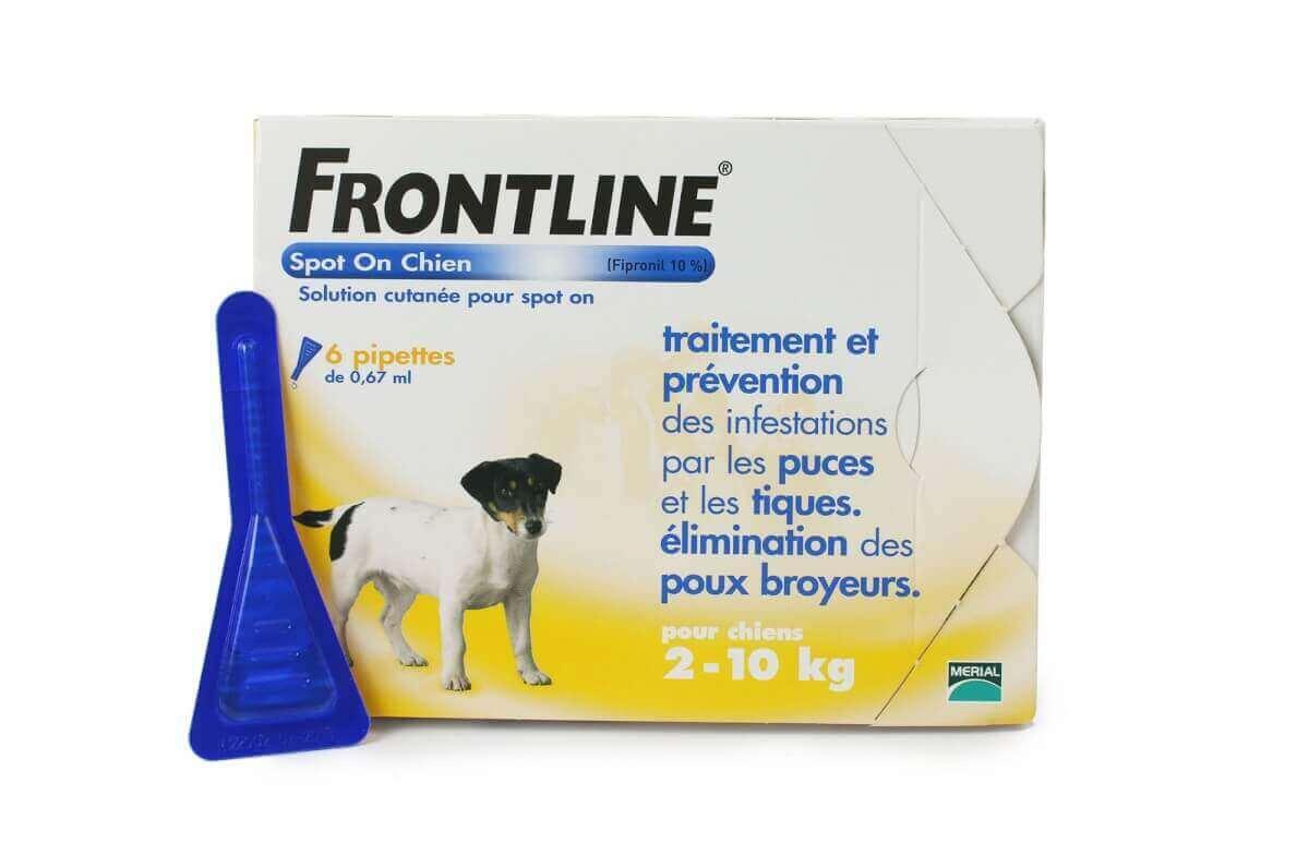 Pipeta antiparasitaria Frontline Spot para perro de 2 a 10 kg_4