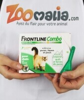 FRONTLINE COMBO Pipettes antiparasites chat