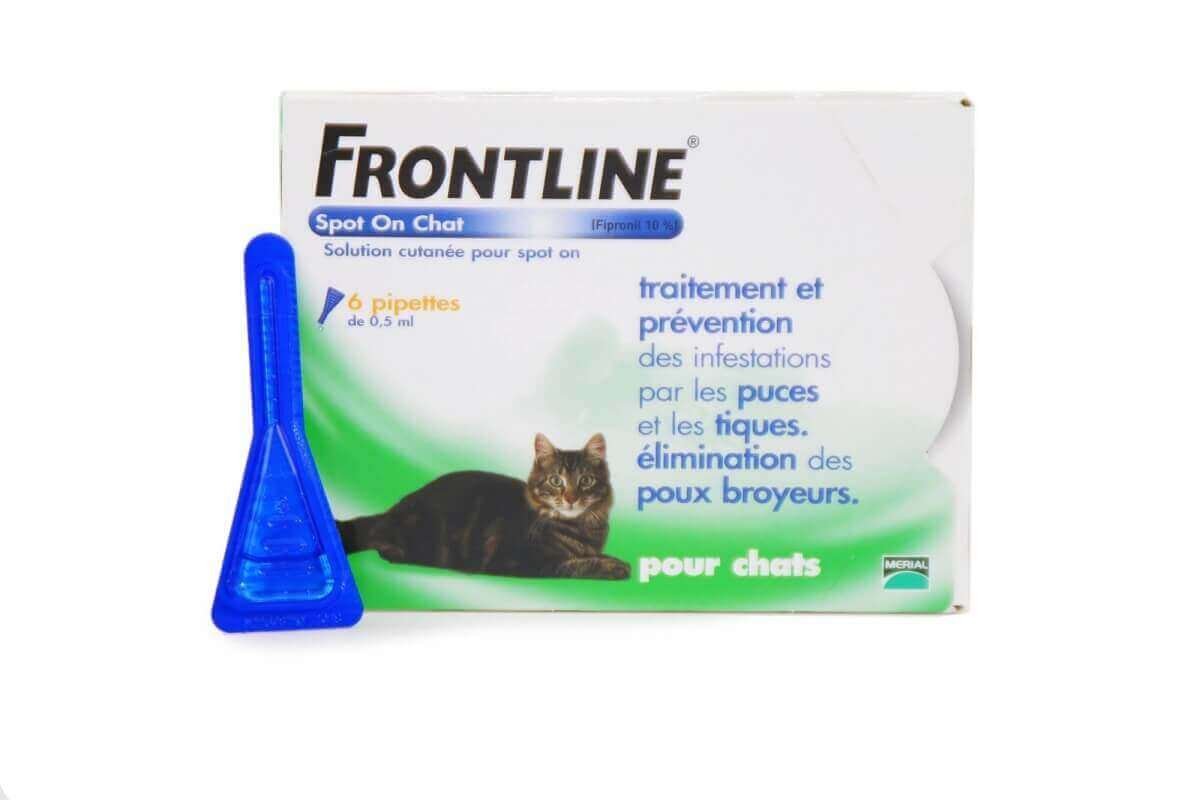Pipeta antiparasitaria Frontline gato Spot on _0