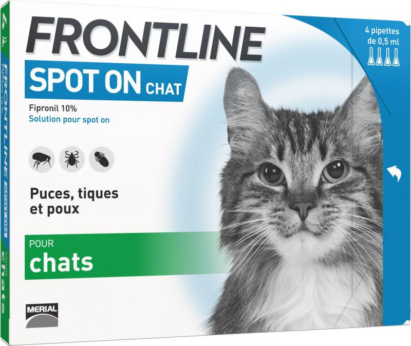 FRONTLINE Spot-on Pipette antiparassitarie per gatti