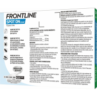 FRONTLINE Pipettes antiparasitaires pour chat Spot-On