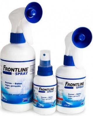 Spray antiparasitario Fronline perro-gato
