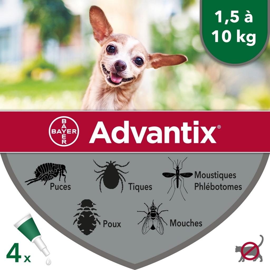 Pipette antiparassitarie per cani Advantix