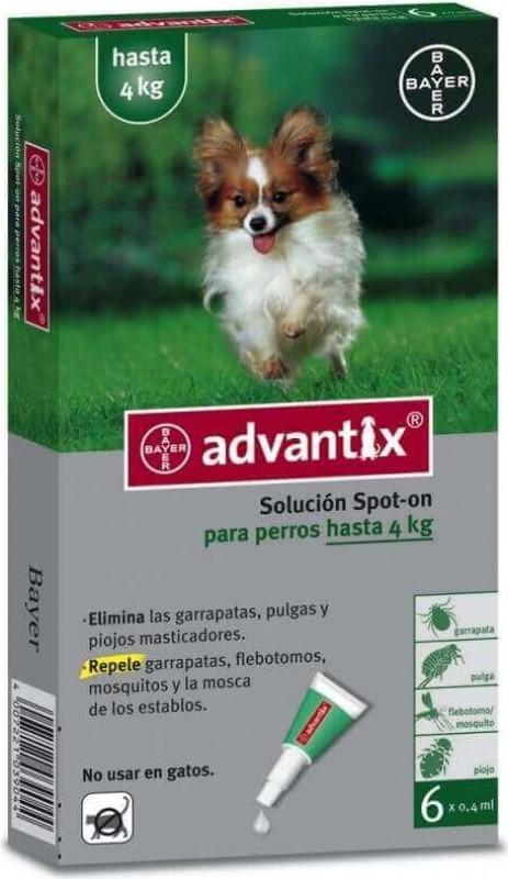 ADVANTIX Pipetas antiparasitarias para perros