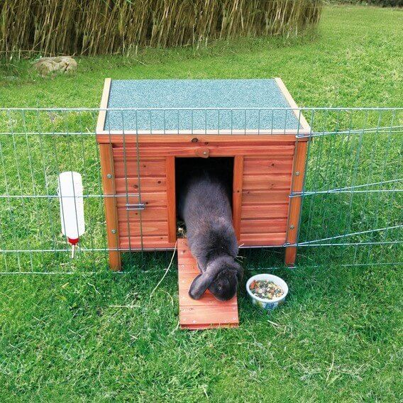 Abri Habitat petits animaux bois naturel_0