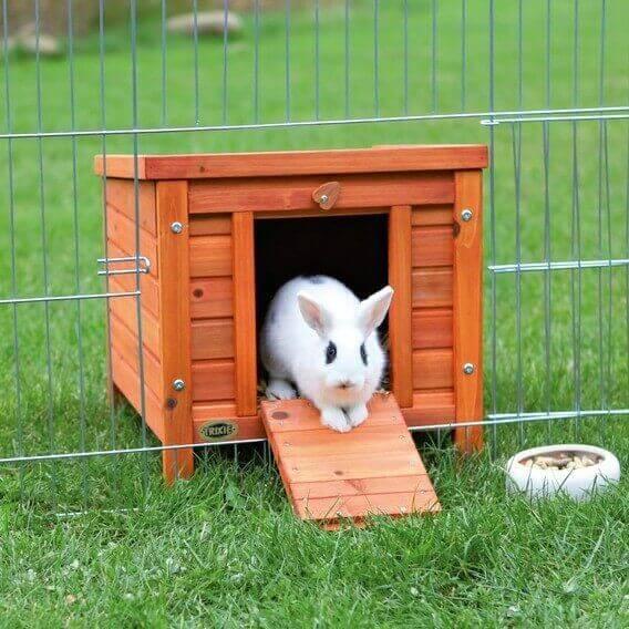 Unterstand für Kleintiere Naturholz - 42 und 60 cm - Trixie