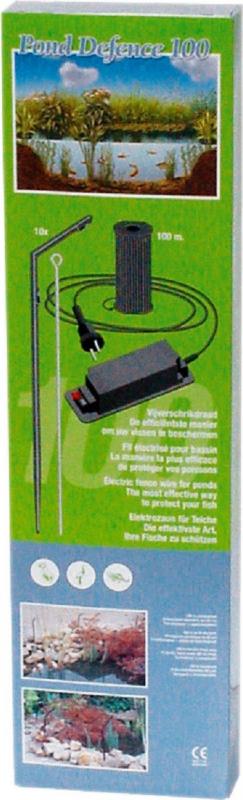 Elektrozaun zum Schutz von Teichen - 100m