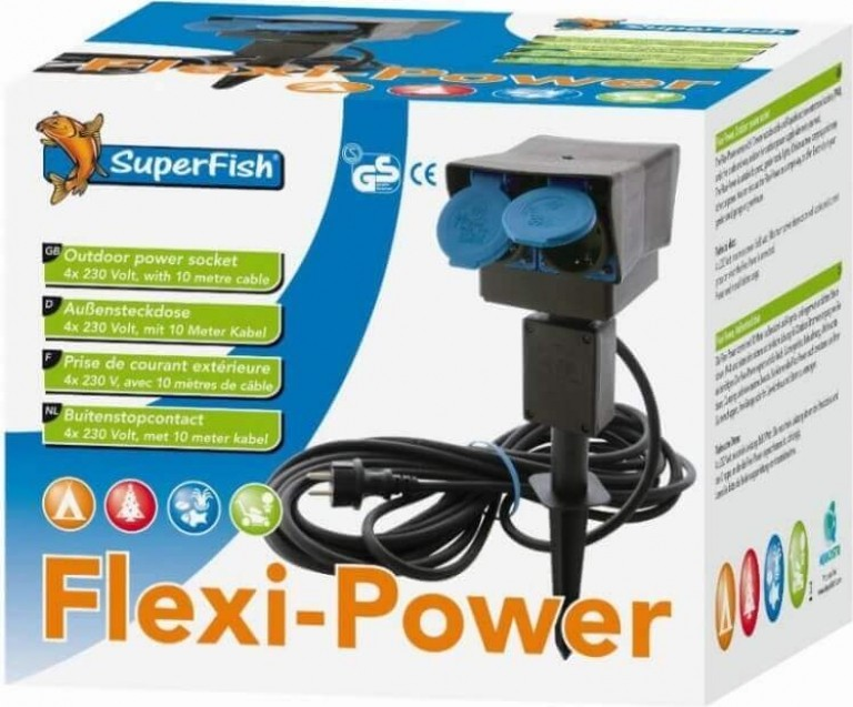 Multi-prise pour bassin Flexi-Power Superfish