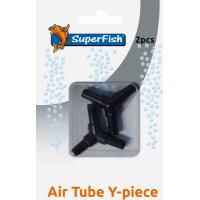 Raccord en T pour tuyau d'air flexible