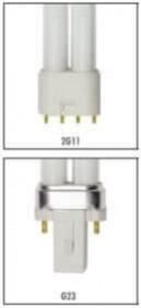 Superfish Lampe UVC universelle de 5 à 55W pour stérilisateur UV