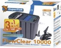 Kit pompe + filtre pour bassin Flowclear 10000