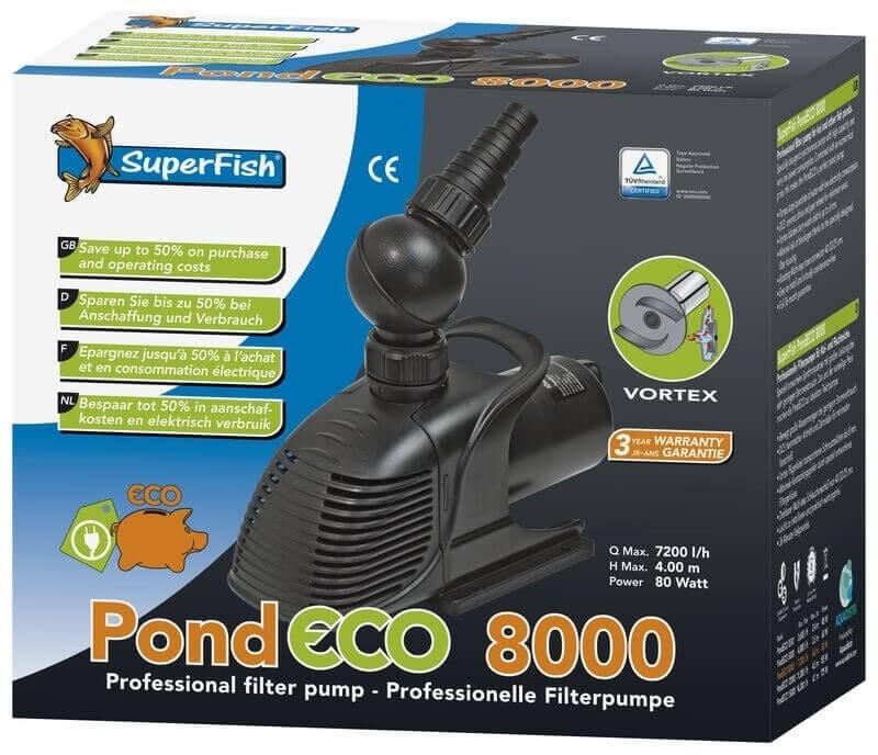 Pompe Superfish Pond ECO pour bassin_2