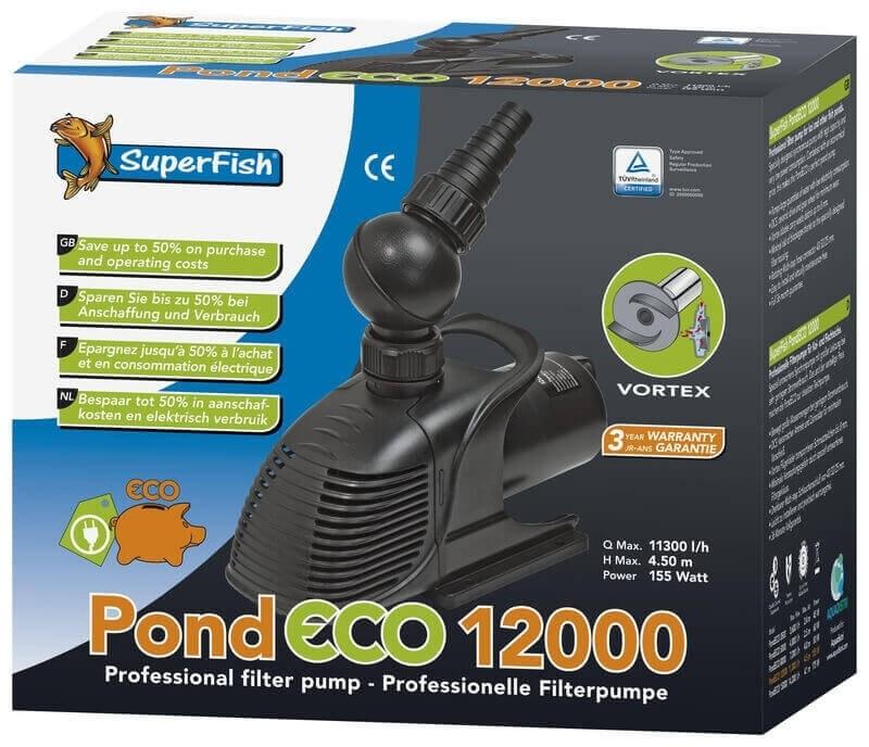 Pompe Superfish Pond ECO pour bassin_3