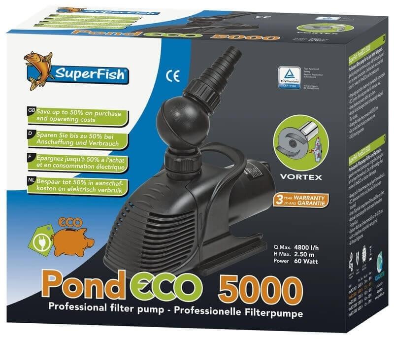 Pompe Superfish Pond ECO pour bassin_1